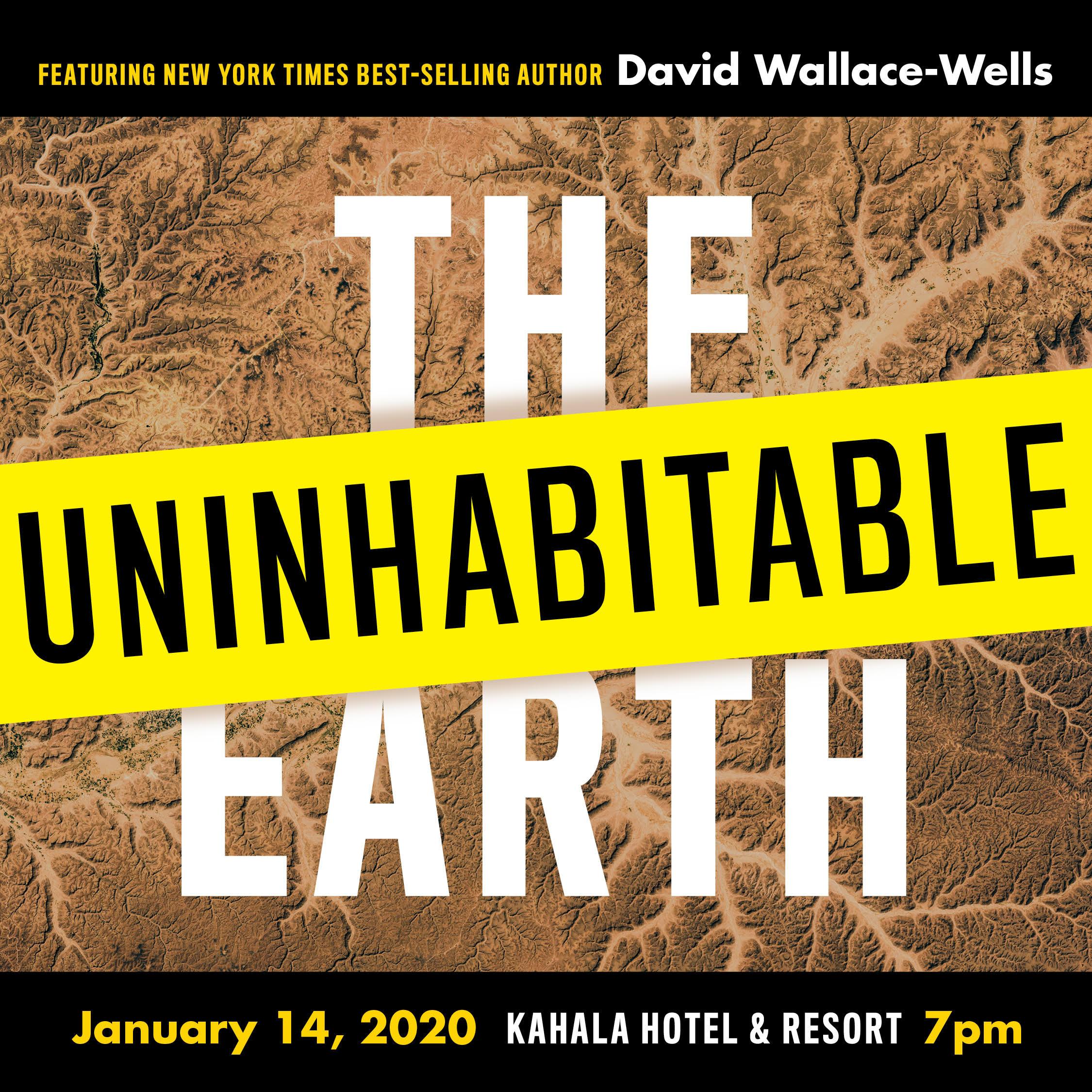 David Wallace Wells Speaker Event Information