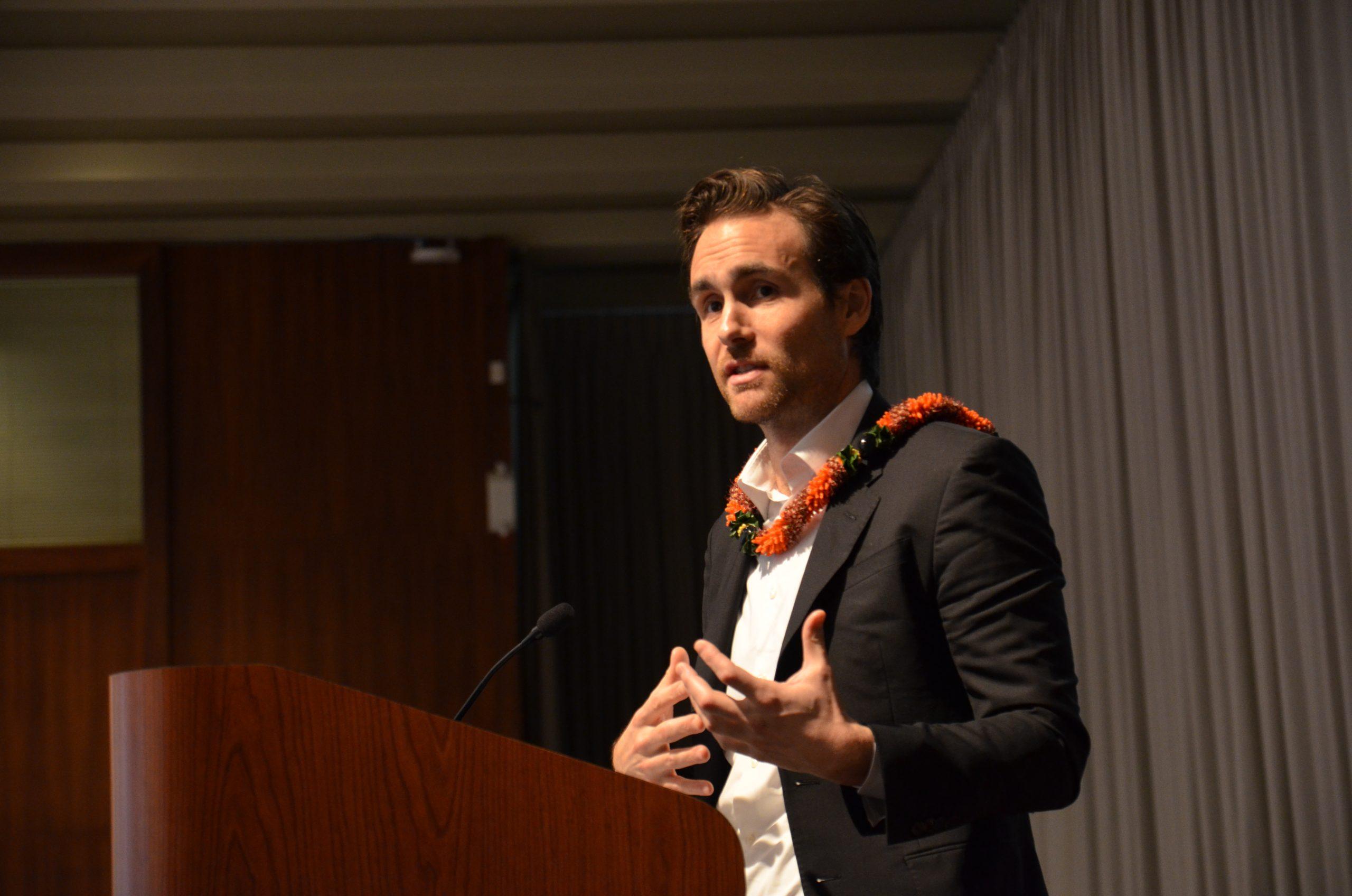 Keynote Address by David Wallace Wells