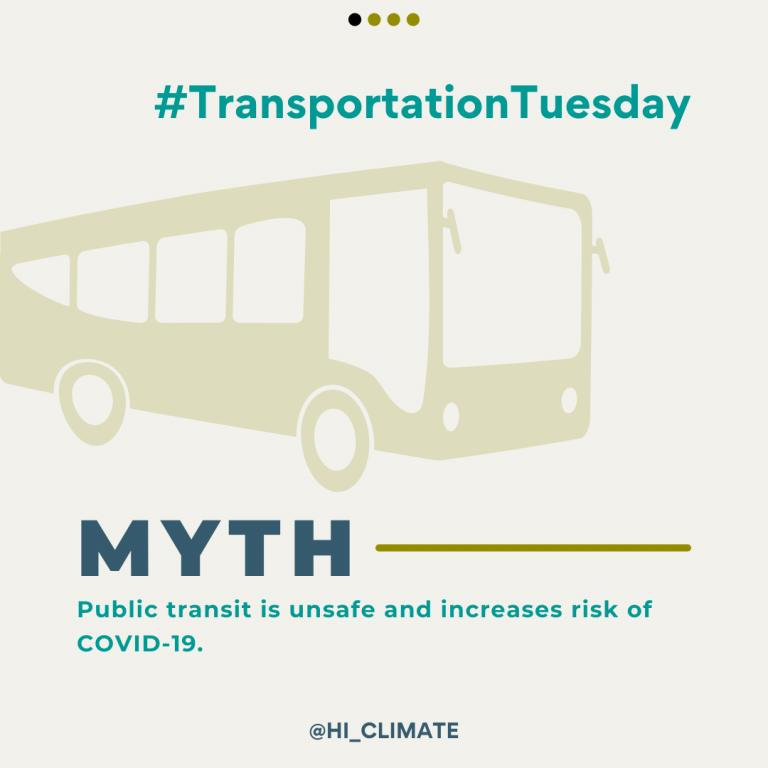 #TransportationTuesday Slide Deck - Myth vs. Fact - Trust in Public Transit